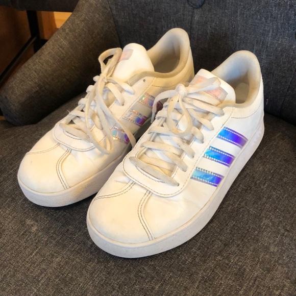 Girls size 4 Adidas Shoes